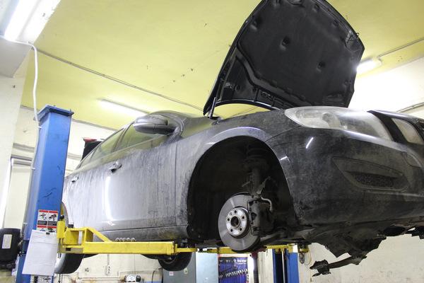 Снятие КПП PowerShift с автомобиля