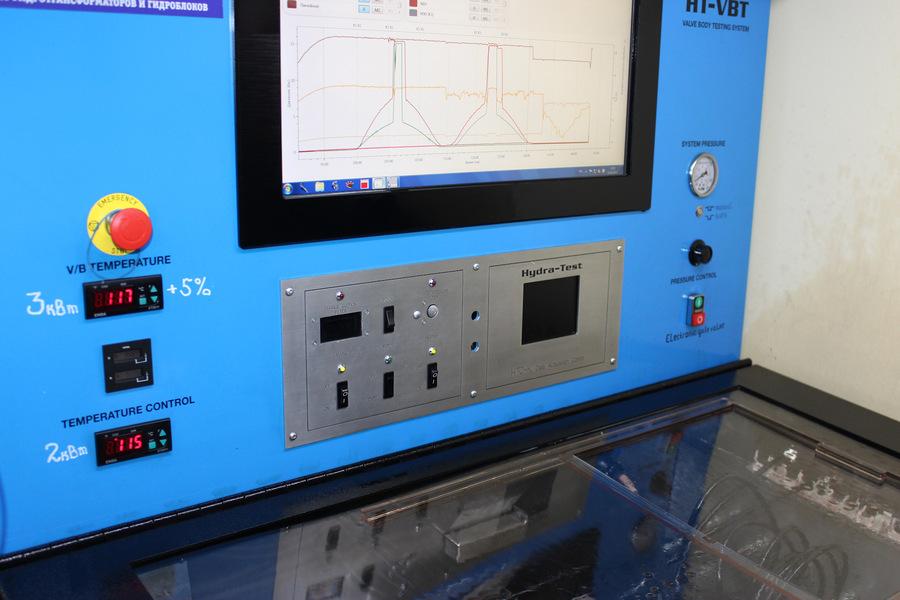 Обкатка гидроблока AW5551SN на Valve Body Machine
