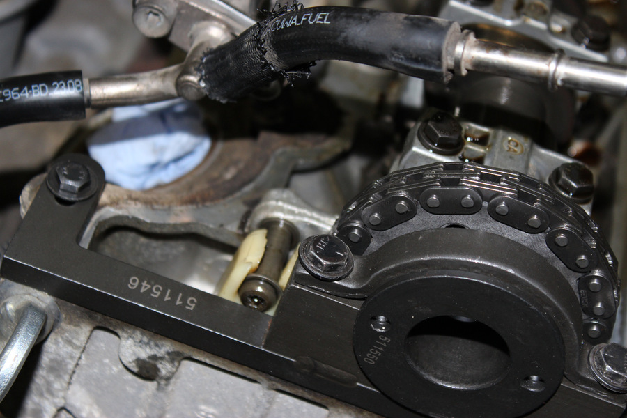 Замена цепей ГРМ Форд Эксплорер 4.0 SOHC